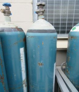 16% CO2 & 3% O2 in Argon cylinder