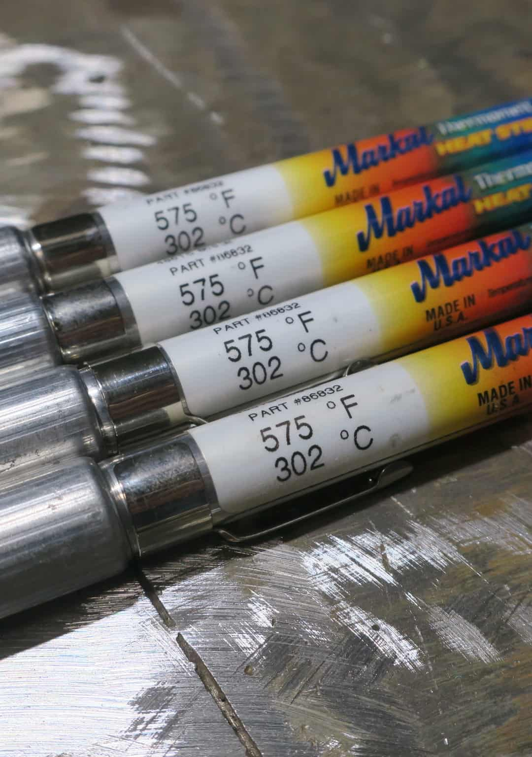 Thermo crayons