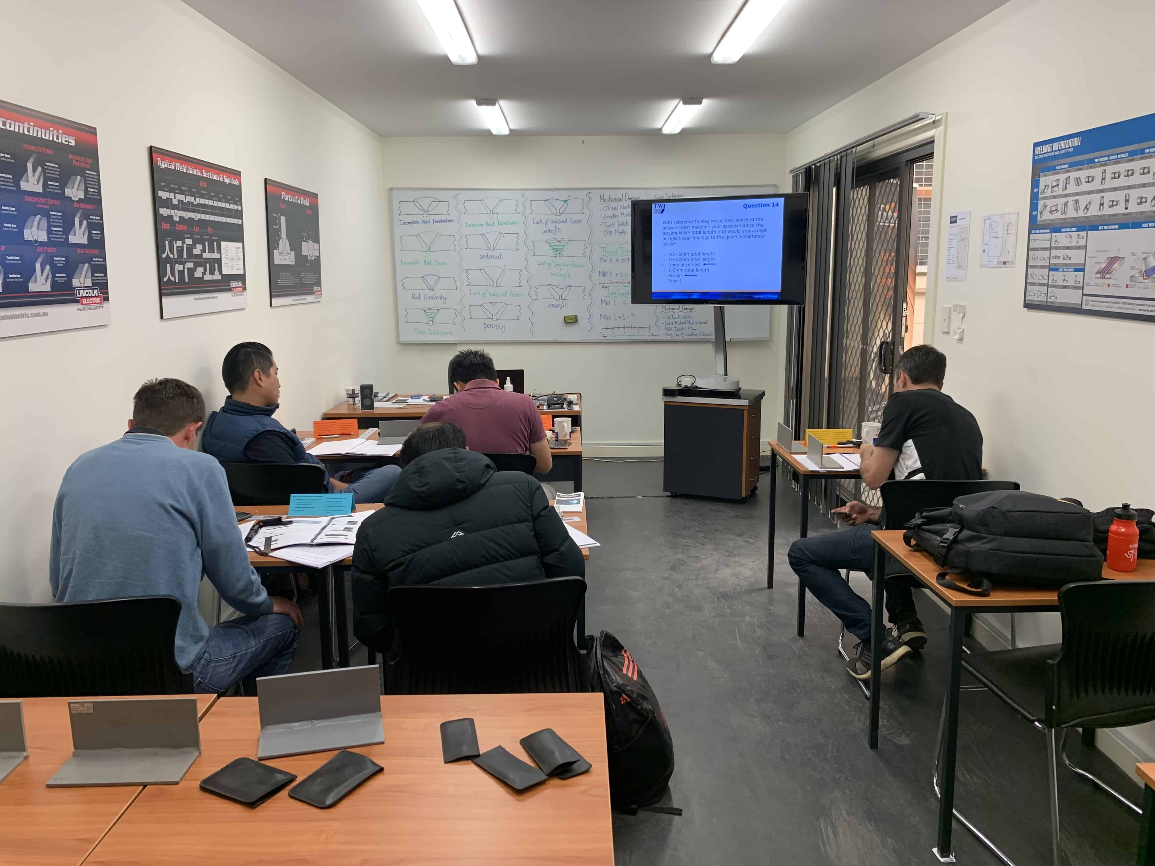 CSWIP training