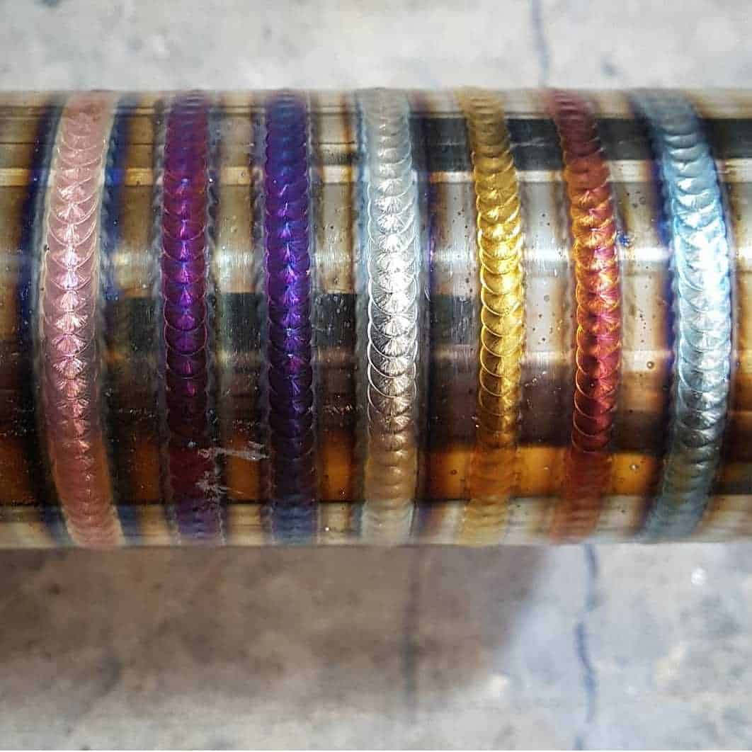 weld colours