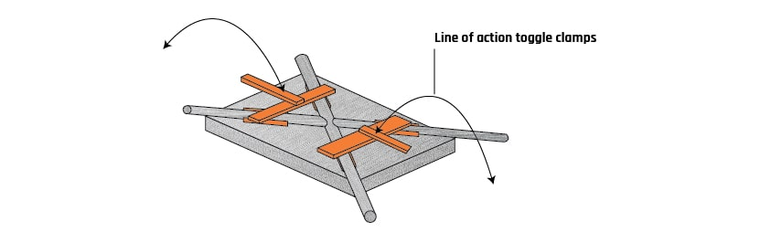 Fig. 9: Jigs and Fixture set Up
