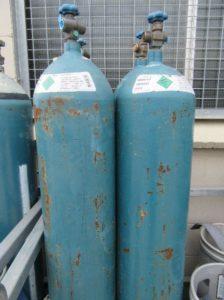 100% Argon cylinders