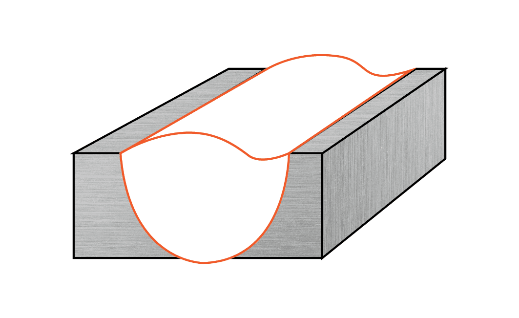 Continuous Under-fill