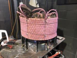 pink preheat ring